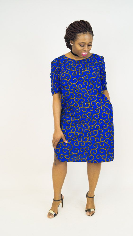 Ankara Dress african print dress dress by MADKollection on Etsy