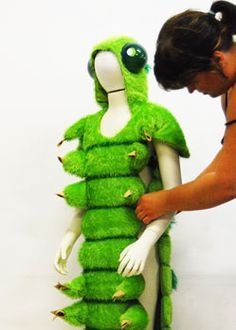 caterpillar costume - Google Search                                                                                                                                                                                 More