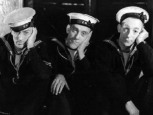 Sailors Three (1940)  Michael Wilding-Tommy Trinder-Claude Hulbert  Wacky British WWII comedy about three sailors who take over a German battleship.    					  						Posted on January 26, 2012 						by vintage45 					    					  						Michael Wilding-Tommy Trinder-Claude Hulbert  Wacky British WWII comedy about three sailors who take over a German battleship.