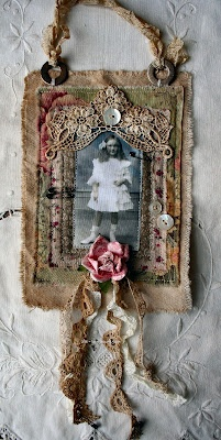 fabric collages