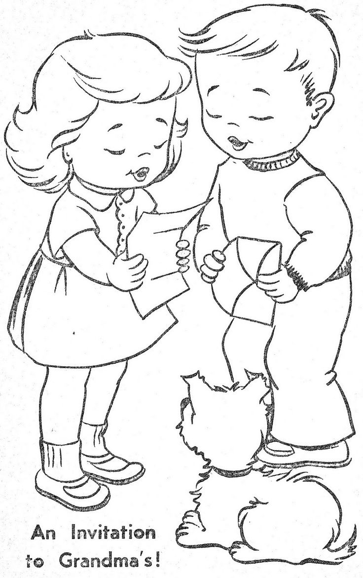 vintage coloring books Bing Images RedworkBlackwork