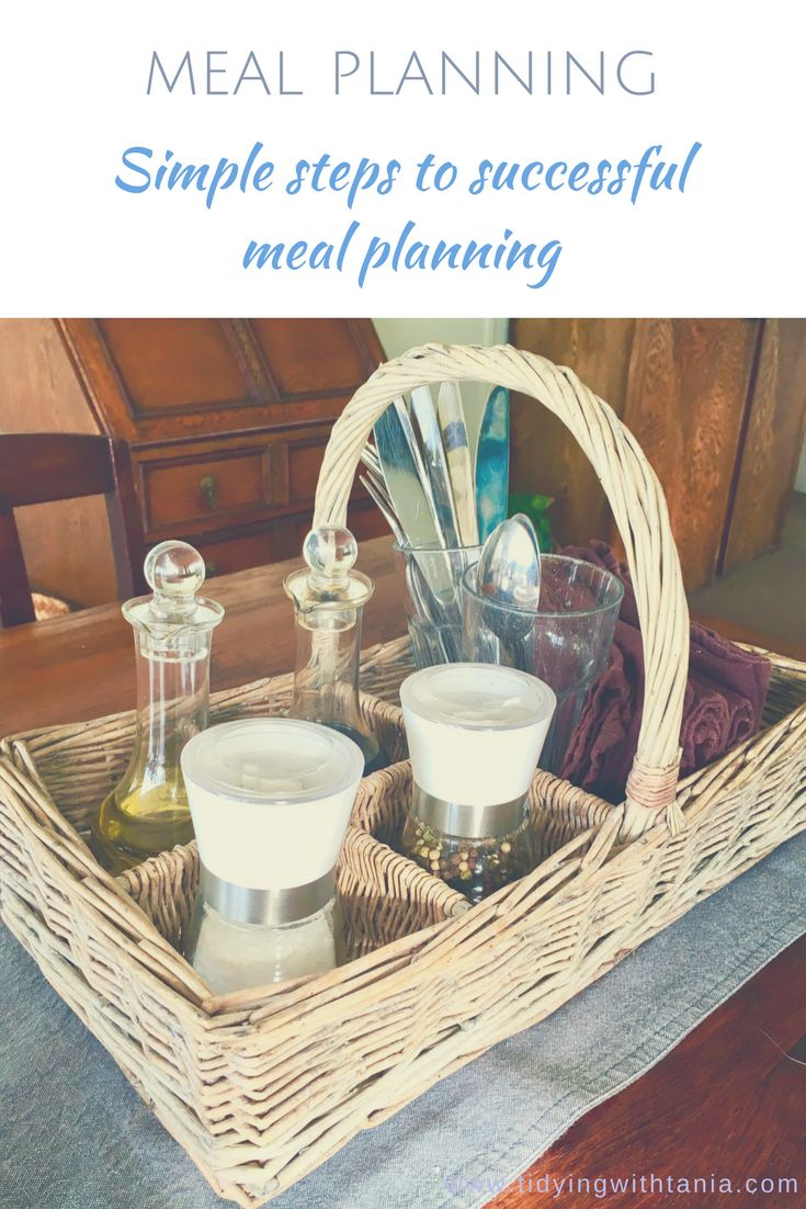 Discover the simple steps to successful meal planning
