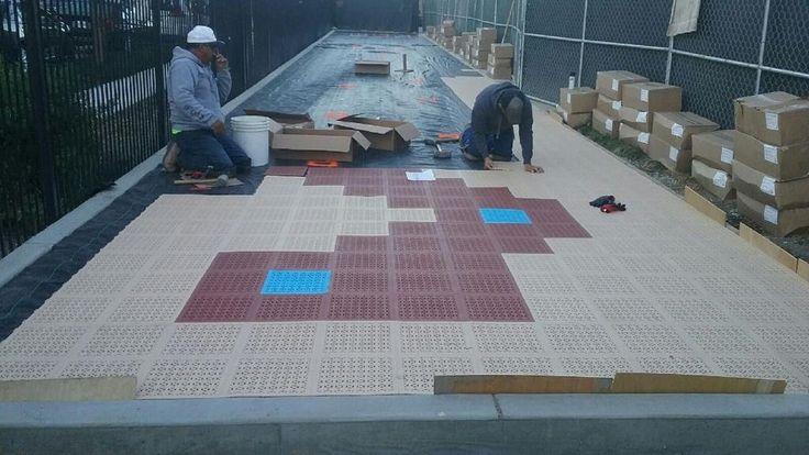 Interlocking Patio Tiles, How to Install Outdoor Flooring