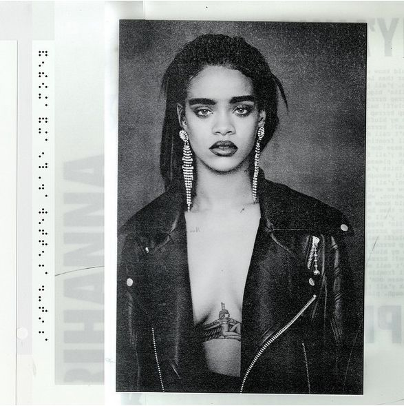 Rihanna released new cover art today, but does that mean the album is dropping today too?