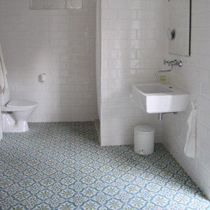 If the downstairs loo was tiled in this. Brilliant! Voltaire - vår marrakeshdesign