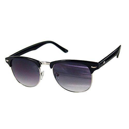 LUFA Semi-Rimless Demi cadre UV400 lunettes de soleil surdimensionnées: Caractéristiques: * 100% tout neuf et de haute qualité * Conçu…