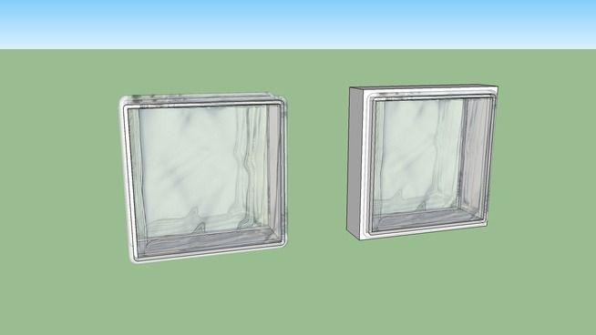 briques de verre - 3D Warehouse