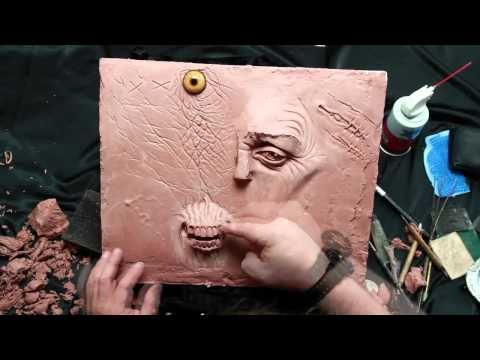 Lesson of the Week - Sculpture Techniques - Monster Textures & Forms - PREVIEW - Stan Winston School