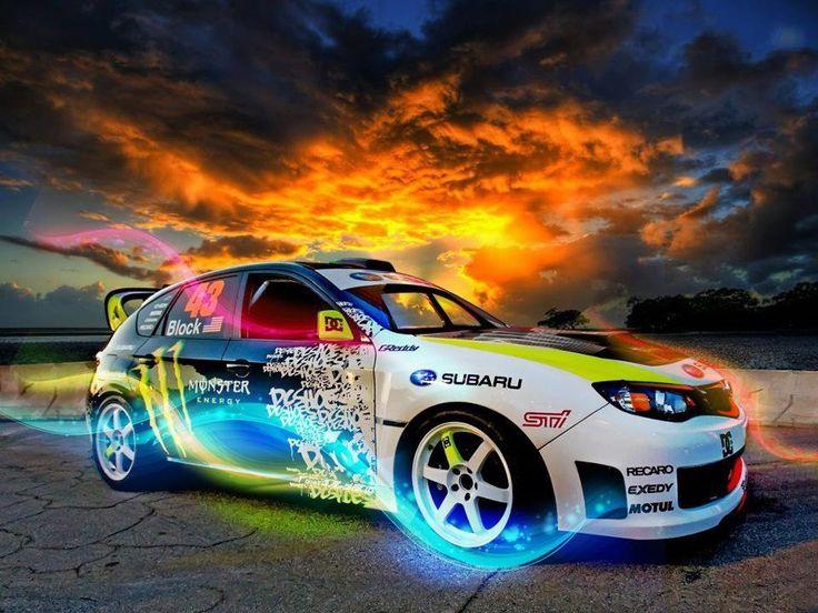Subaru Rally...A True Work of Art!