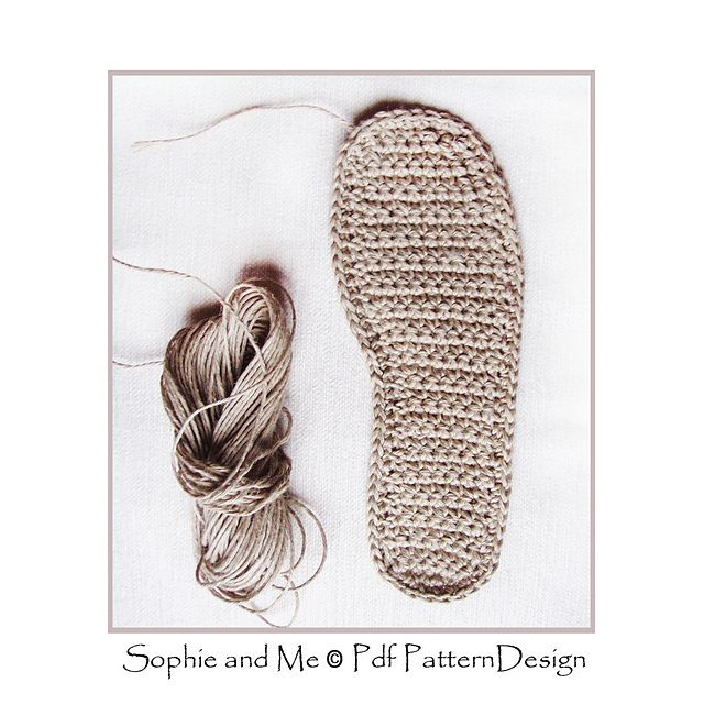 Any-size sole-method, for any foot-shape, yarn, and gauge!