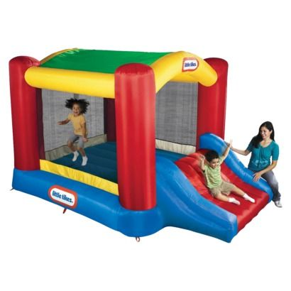 Little Tikes Shady Jump 'n Slide - Maybe buying one is better than renting one?