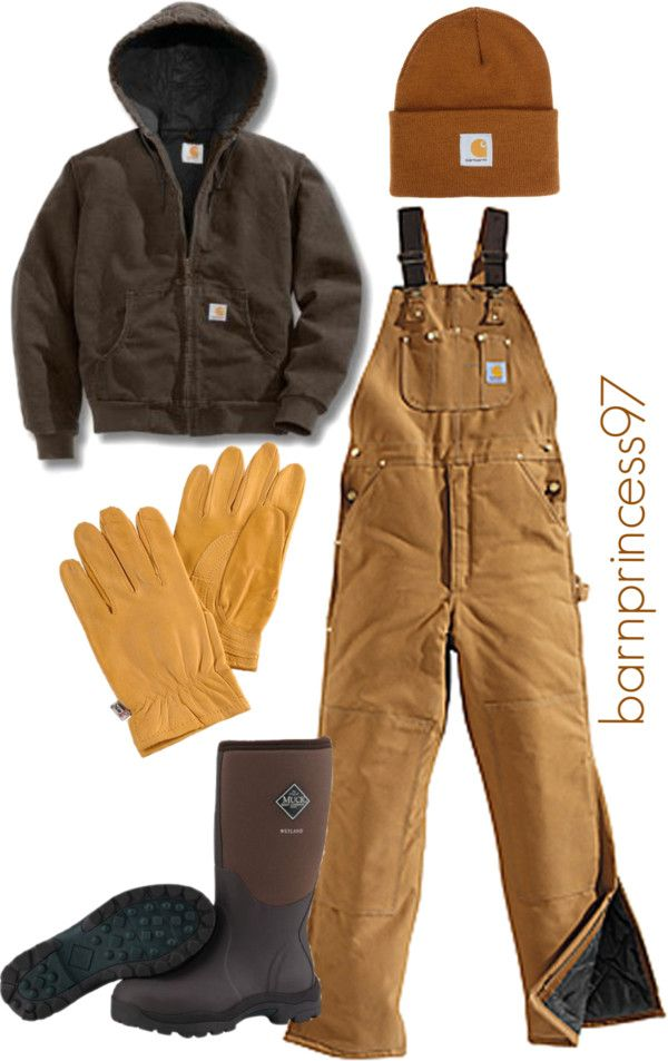 """Winter Chores on the Farm"" by barnprincess97 on Polyvore"