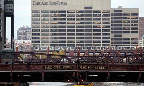 Chicago Sun-Times lays off entire photography staff  Twenty-eight employees reported to have lost their jobs as newspaper says it needs to move towards more online video