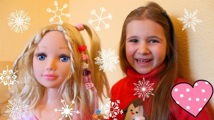 Кукла манекен для макияжа и причесок