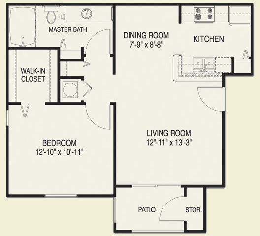 Find 1 Bedroom Apartment: One Bedroom Home - Google Search