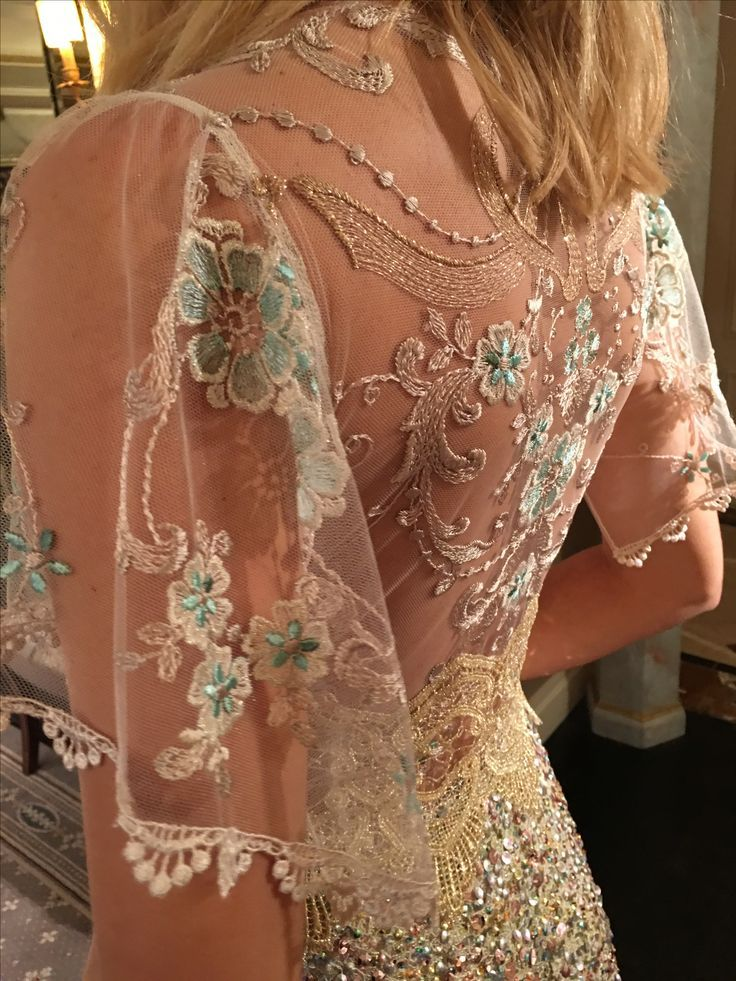 Zodiac wedding dress by Claire Pettibone The Four Seasons collection