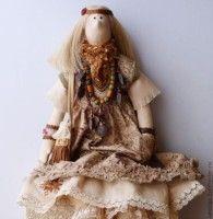 Gallery.ru / Фото #3 - Тильды в одежде стиля БОХО - Los-ku-tik
