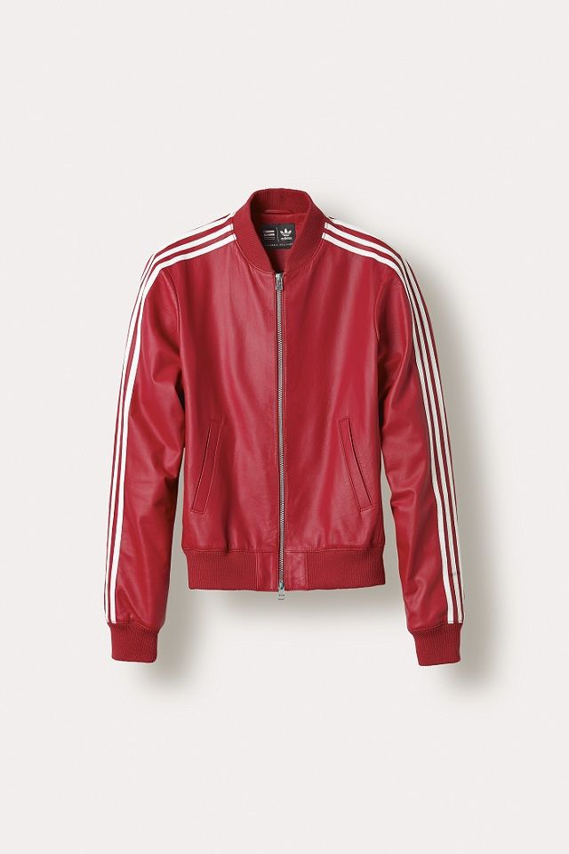 Adidas Originals x Pharrell Williams: blouson Superstar rouge