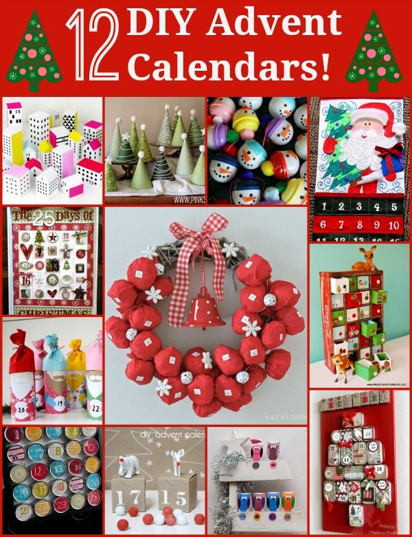 Unusual Calendar Ideas : Advent day unique diy calendars christmas