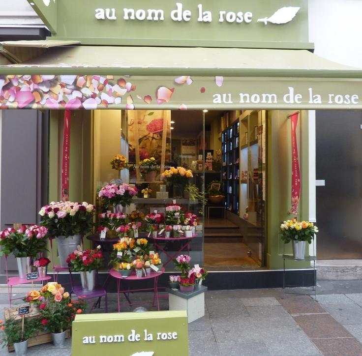 Les 128 meilleures images du tableau les boutiques au nom de la rose sur pinterest magasins de - Au nom de la rose fleuriste ...