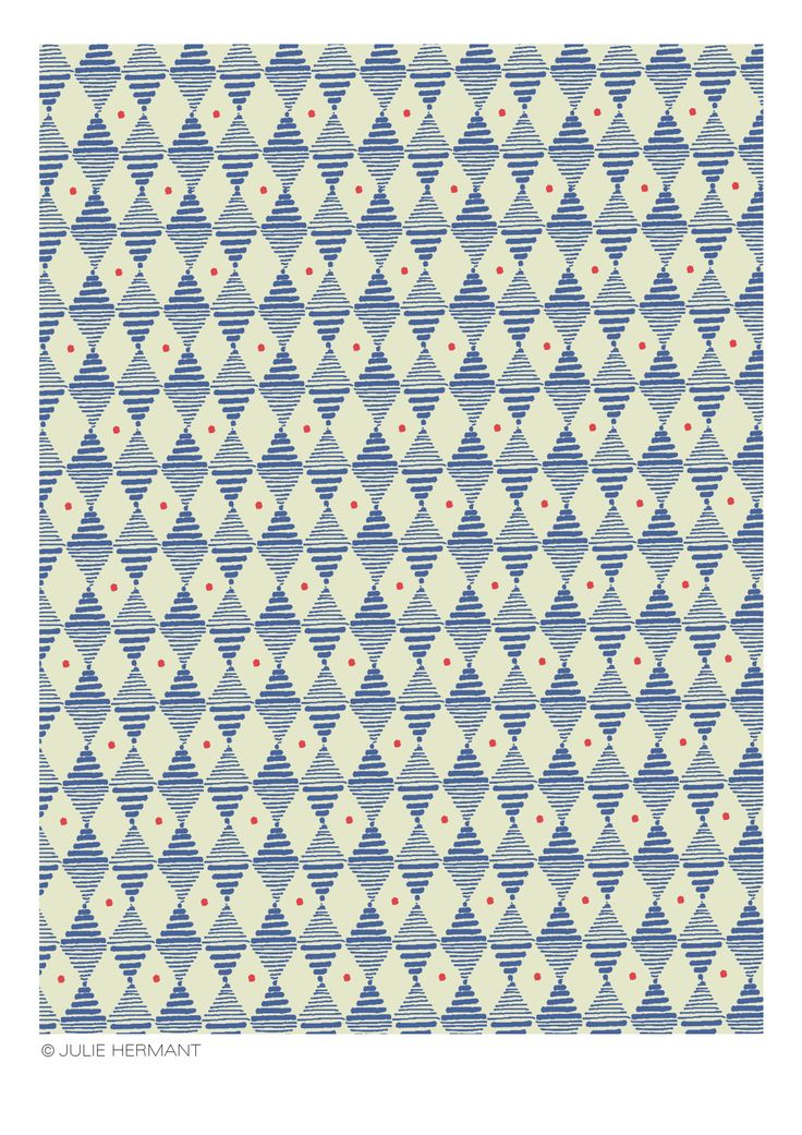 Pattern for Hartford | Julie Hermant, textile designer