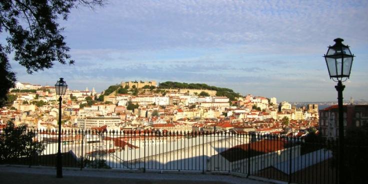 Lisboa, Miradouro S. Pedro de Alcântara
