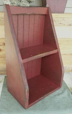 Primitive Cubbyhole Shelf Pattern WN130