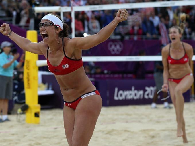 Misty May y Kerri Walsh hacen historia en el voleibol playero