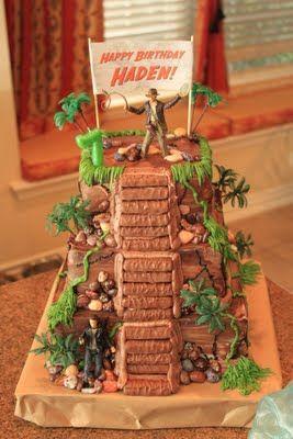The inspiration   Indiana Jones cake