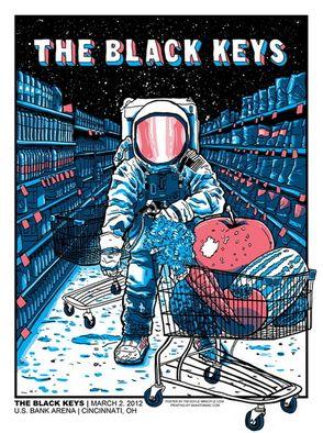 THE BLACK KEYS - Konser posteri