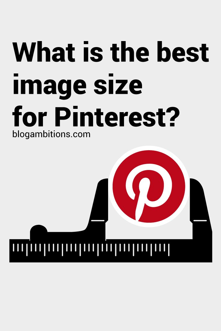 Need help creating graphics for Pinterest? This post gives a detailed explanation of the best size pictures to use for Pinterest.