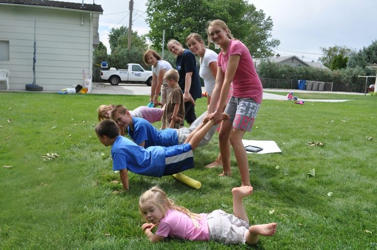 Family Reunion Games - Family Olympics!