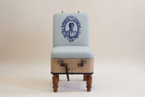 Koffer stoel