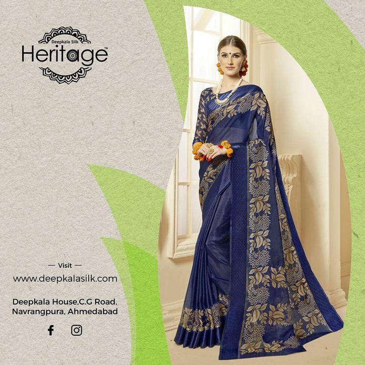 Visit our exclusive genuine designers sarees collections at great prices with Deepkala Silk Heritage.  https://www.deepkalasilk.com/quickshop/index/view/path/royal-blue-kota-silk-saree.html #Cotton #Beauty #boldness #deepkala #silk #heritage #deepkalasilkheritage #TraditionalWear #Anarkali #AnarkaliSuits #SalwarKameez #BeSpoke #SalwarSuits #Lehenga #Saree