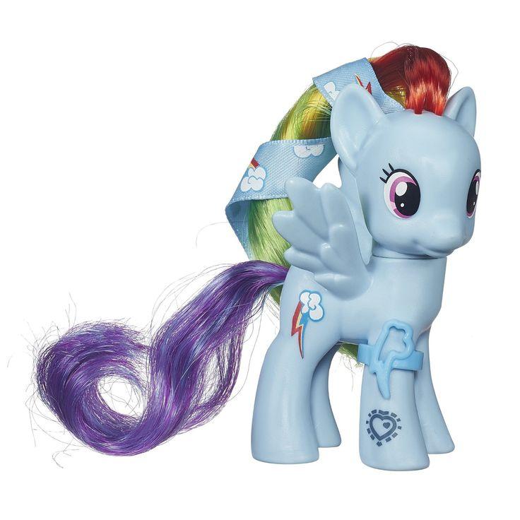 Cutie Mark Magic Rainbow Dash Ribbon Hair Single My Little Pony Merch Mlp Pinterest