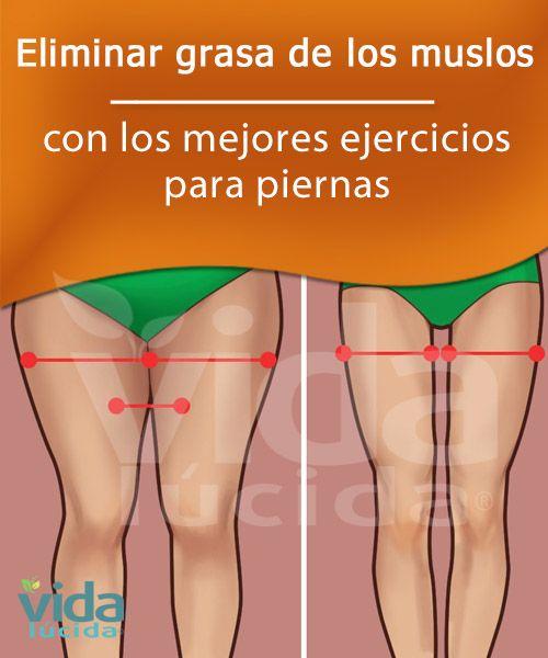 Eliminar grasa de los muslos
