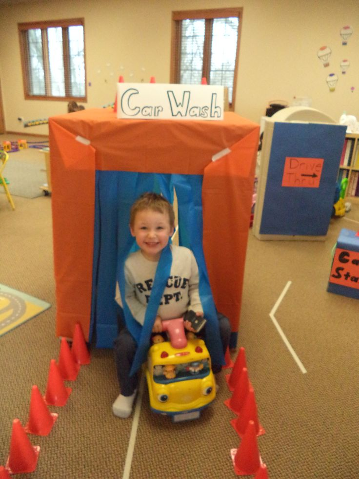 Dramatic play - car wash