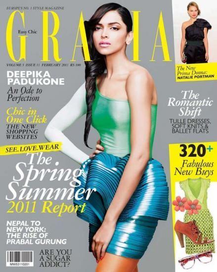Deepika Padukone, Grazia Magazine [India] (February 2011)