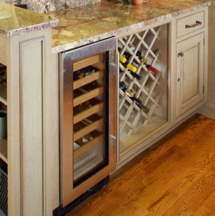 Kitchen Cabinet Accessories traditional wine racks & refrigerated rack
