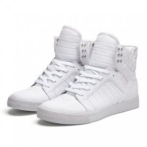 Niall Horan: These classic white Supras can be paired with any look and are extremely comfortable for long shows!