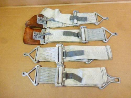 Vintage-aircraft-seguridad-cinturones-cinturones-de-seguridad-Hot-Rod-Rat-Rod-helicoptero-J3-Cub