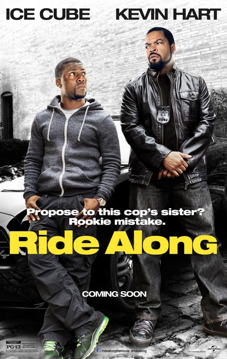 Ride Along - This was funny, but I did feel lthat Kevin Hart's character was a little too whiny at times.