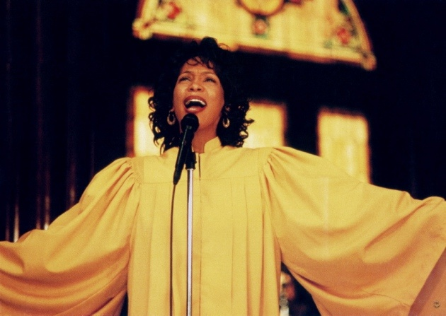 "Whitney Houston in the 1996 movie ""The Preacher's Wife"" -- one of my favorite movies of all time....."