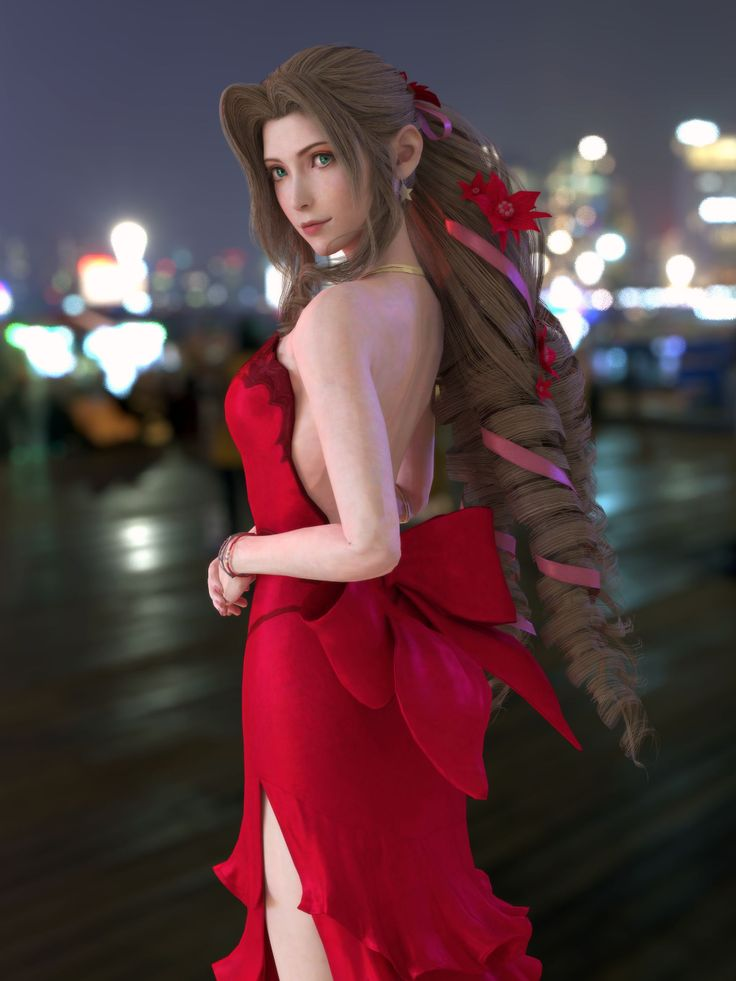 Tifa Aerith-Exchange Outfit by Xefiroth on DeviantArt