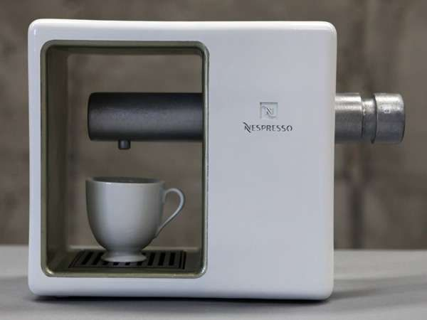 Much as I don't love Nespresso this Coffee Machine design has a Rams  like beauty