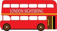 FREE London sightseeing bus Red double decker UK GB British SVG | The Craft Crop