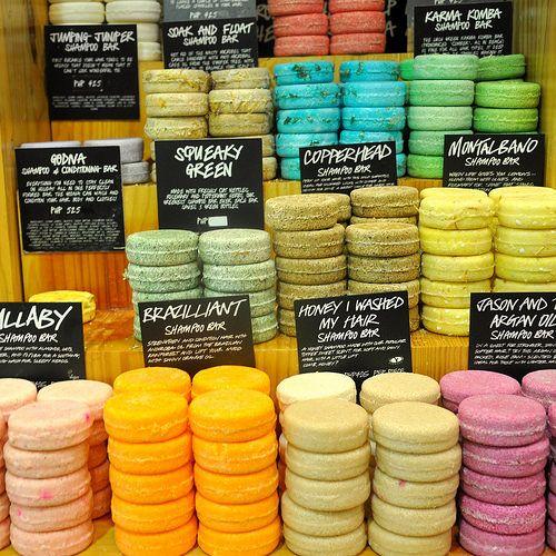 LUSH Shampoo Bars