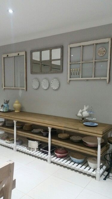 Dining room wall  (on a tight budget )