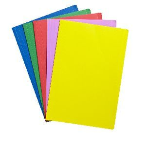 J.Burrows Manilla Folder A4 Assorted Colours 25 Pack