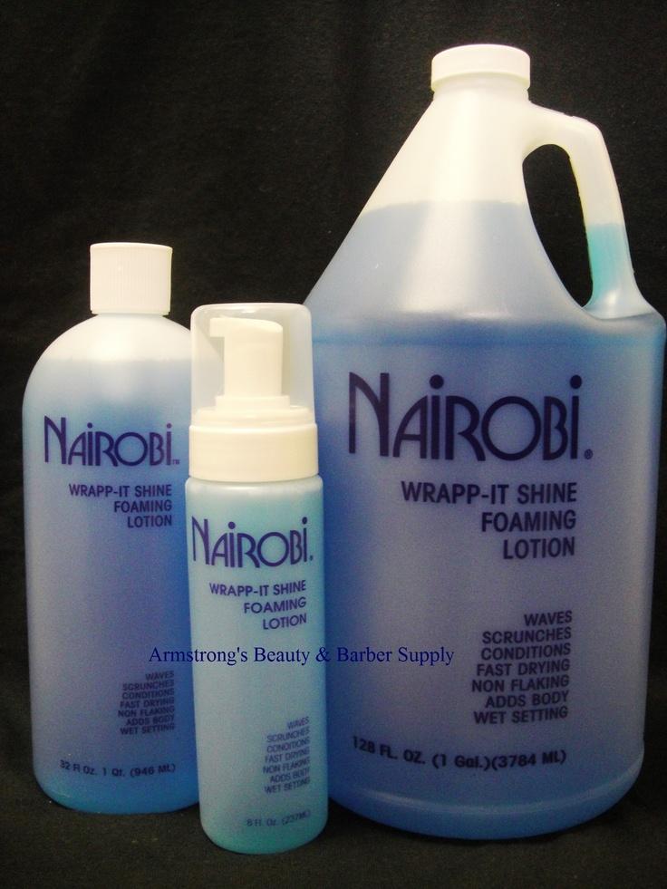 We have America's 1 Foam Wrapp available! Nairobi Hair